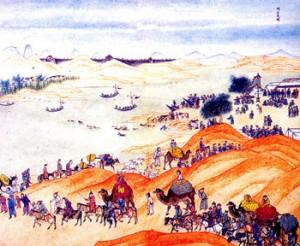 Казахско-китайские отношения в восемнадцатом веке