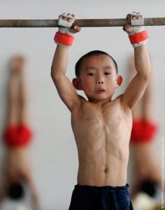 Китаец-спортсмен
