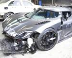 Китаец в аварии разбил суперкар за 4 миллиона долларов
