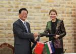 Компания «Сычуань Аэроспейс» построит в Джизаке завод базальтового волокна