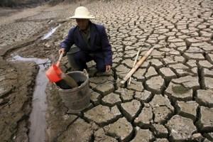 Китай нормальной воды практически нет