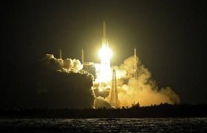 Китай осуществил запуск трех спутников при помощи новой ракеты-носителя