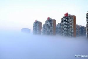 Китай парализован туманом