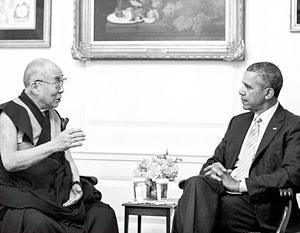 Китай предостерегает лидеров мировых государств от встреч с Далай-ламой