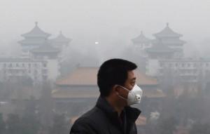 Китай страдает от массового задымления