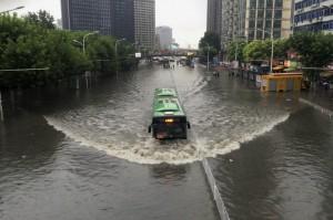 Китай затопило под водой целые города