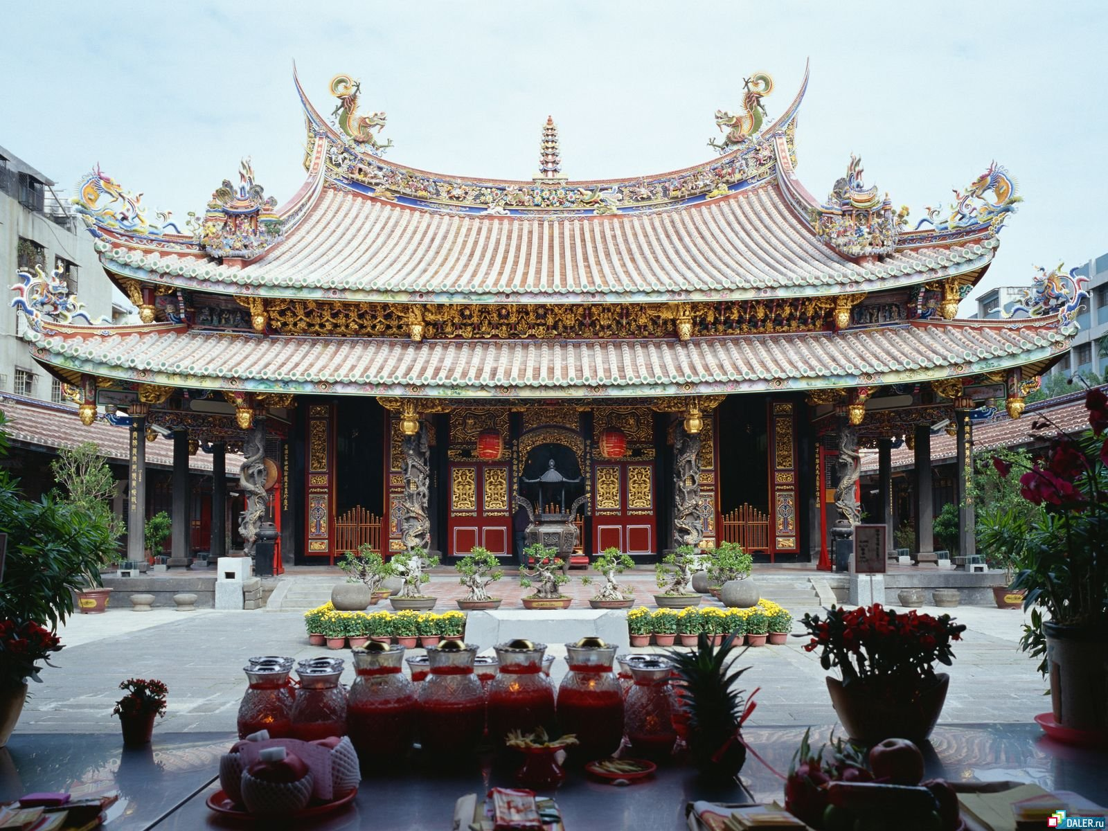 a study of the chinese architecture