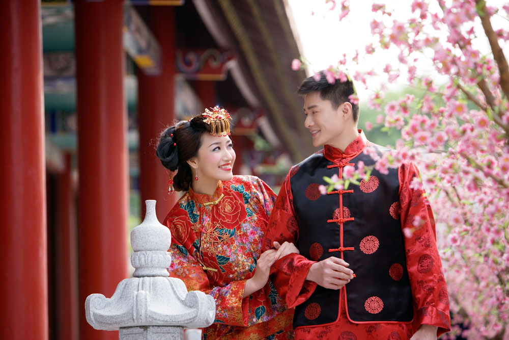 Китайская свадьба по-современному2