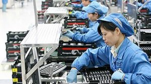 Китайские фабрики и заводы