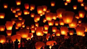 Китайские фонарики являются пожароопасными