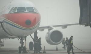 Китайские пилоты будут садить самолеты вслепую