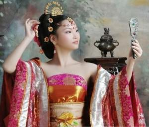Китайские прически