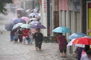 Китайские синоптики прогнозирую сильные дожди на востоке страны
