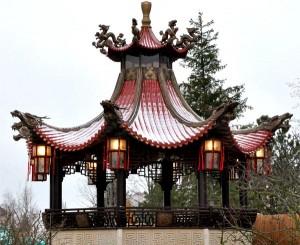 Китайские традиционные крыши2