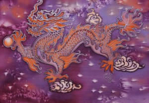 Китайский батик