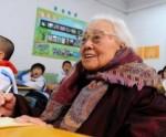 Китайской деревней управляет пожилая женщина