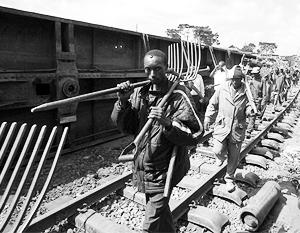 Китайцы помогут строить железную дорогу в Африке