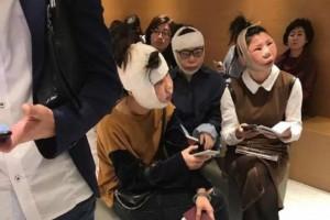 Китаянки застряли на границе Южной Кореи из-за лиц, опухших после пластики