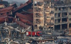 Количество жертв взрыва в Китае достигло 50 человек