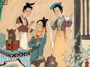 Косметика в Древнем Китае