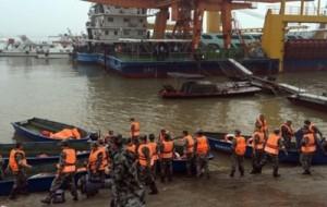 Крушение судна в Поднебесной спасательную операцию возглавит премьер