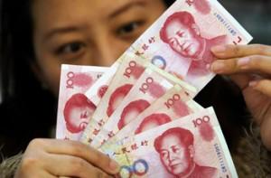 Курс юаня продолжает расти
