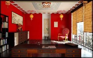 Любителям Китая создание интерьера, стены, отделка, цвета