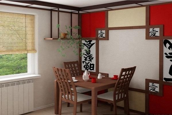 Мебель для кухни в китайском стиле2