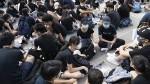 Митингующие в Гонконге просят помощи у США