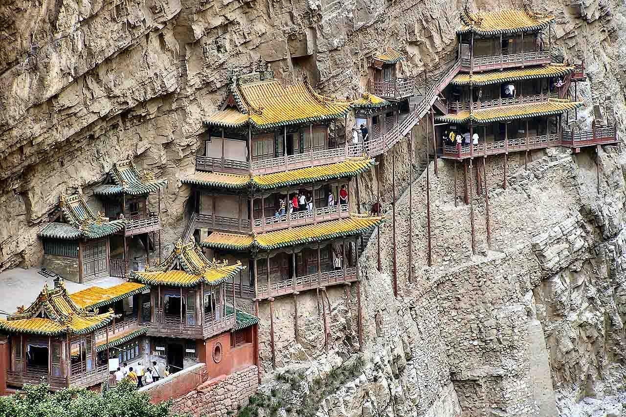 Монастырь Сюанькун