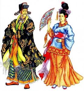 Мужской костюм в Древнем Китае
