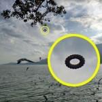 НЛО в форме пончика обнаружил турист в Китае