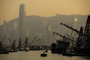 На территории Китая продолжается борьба со смогом