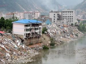 На территории северо-запада КНР произошло мощное землетрясение