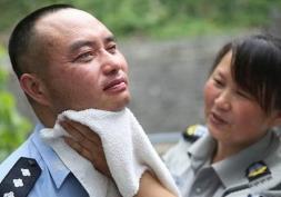 На участке слепого полицейского 10 лет не происходило преступленией