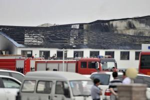 Найдена причина крупного пожара на птицефабрике