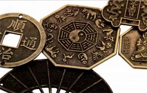 Необычные китайские монеты