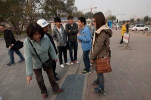 Невербальное общение в Китае язык тела