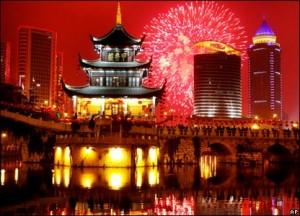 Новогодние традиции КНР