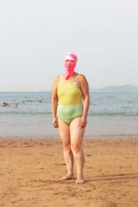 Новый модный тренд в Китае – купальники для лица2