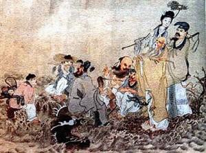 О китайских бессмертных героях