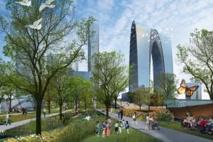 О современной архитектуре Китая