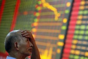 Обвал на китайском фондовом рынке