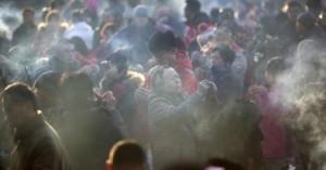 Очередная экологическая угроза для Пекина - фейерверки