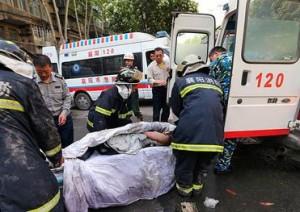 Очередной взрыв в Китае. Есть пострадавшие