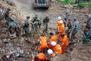 Оползень в Китае стал причиной гибели 73 людей