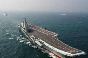 Опытный образец первого китайского авианосца завершил свои испытания