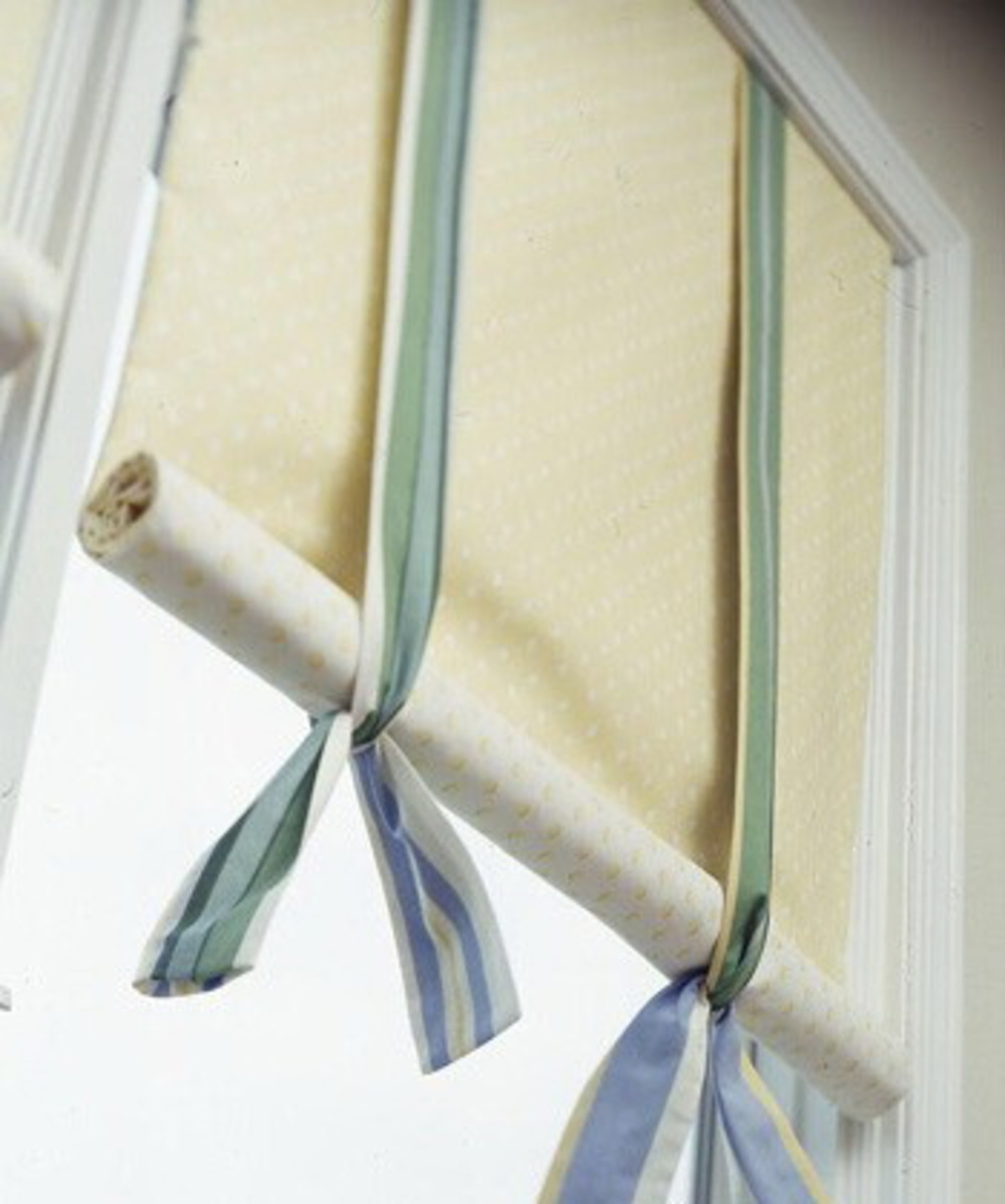 Как можно сделать рулонные шторы своими руками