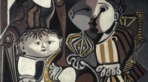 Пабло Пикассо «Клод и Палома»