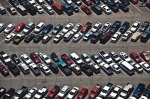 Парковки в Китае